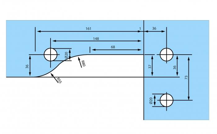 Balama coltar supralumina RD-40 2