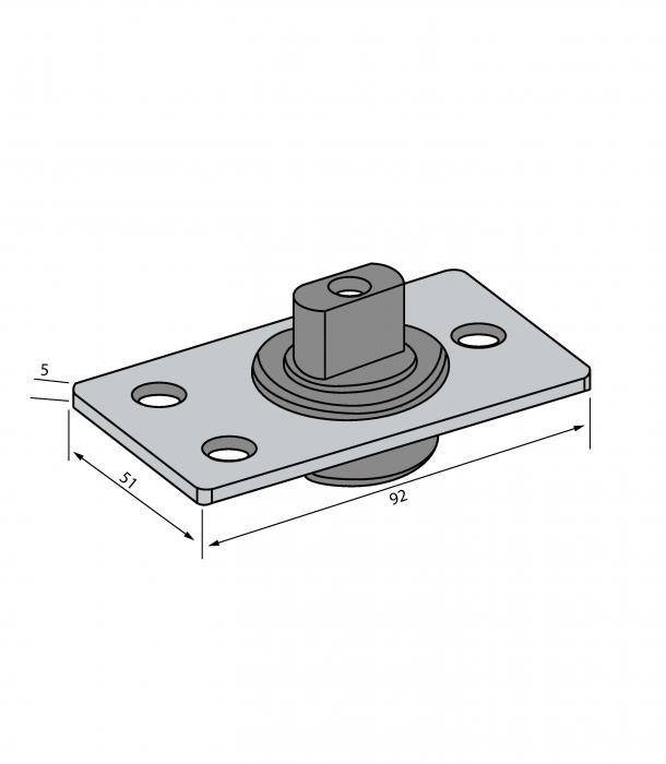 Pivot pardoseala - Railing Design 1