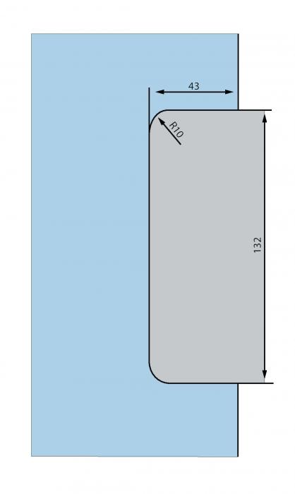 Contraplaca sticla GK 50 - pentru US 20 - Dorma Mundus Comfort 3