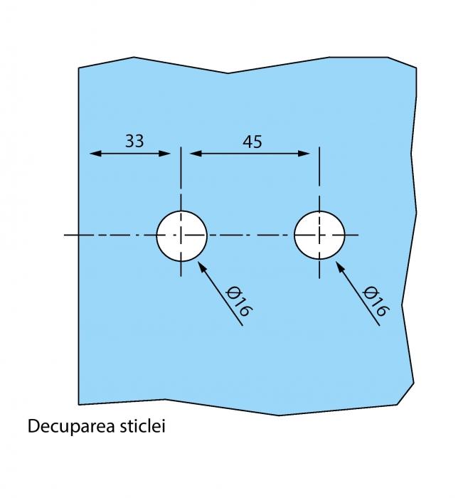 Balama aplicata usa sticla 8-10 mm 4