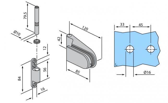 Balama aplicata usa sticla 8-10 mm 2