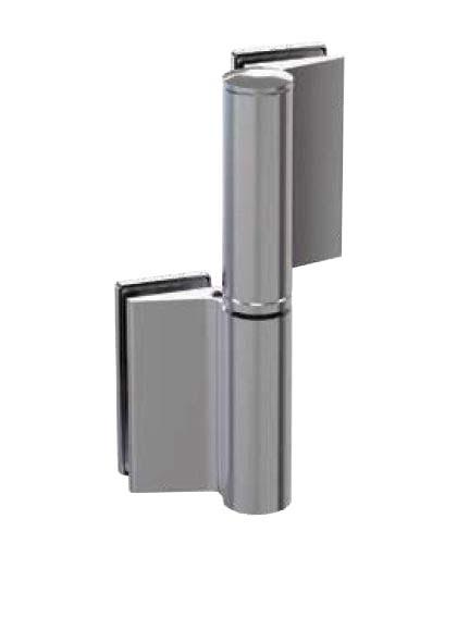 Balama hidraulica Biloba EVO cu blocare 90°/180° fixare pe sticla 0