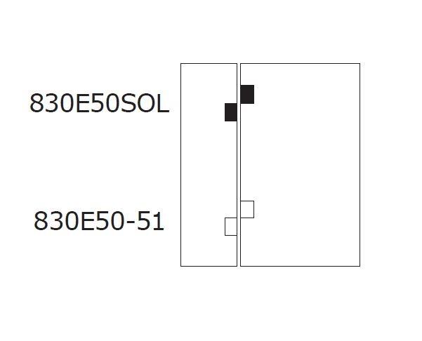Balama hidraulica Biloba EVO cu blocare 90°/180° fixare pe sticla 4