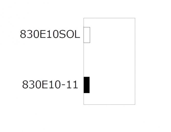 Balama hidraulica Biloba EVO cu blocare 90°/180° fixare pe perete 4