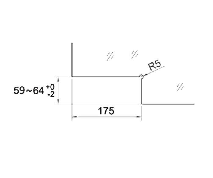 Balama pardoseala cu amortizor incorporat HGT 100 2
