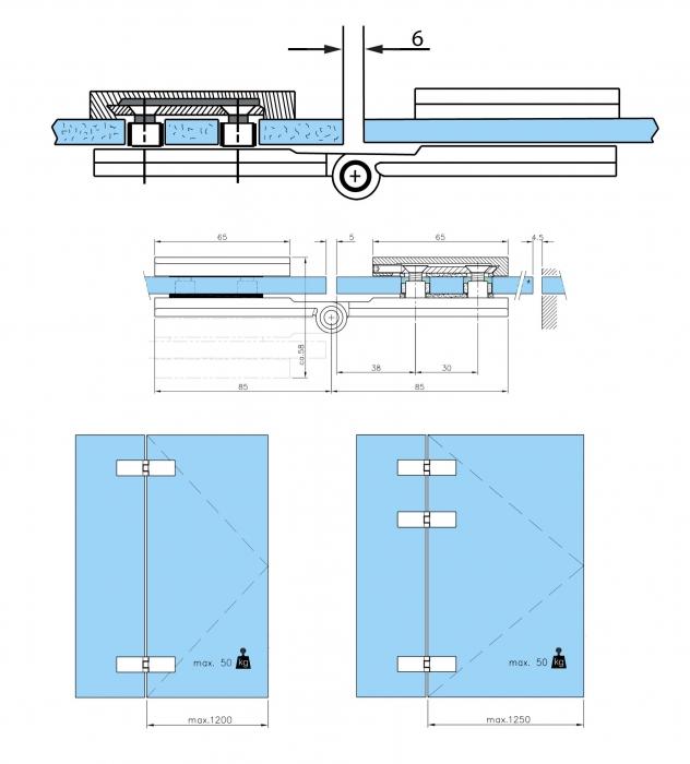 Balama sticla/sticla usa armonica [2]