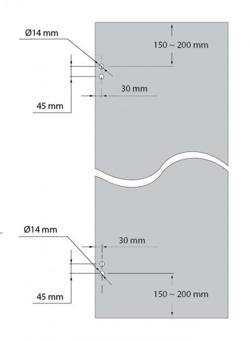 Balama incadrata usa sticla 8-10 mm 2
