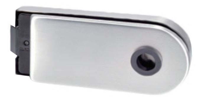 Broasca ovala fara incuiere usa sticla 8-10 mm 0