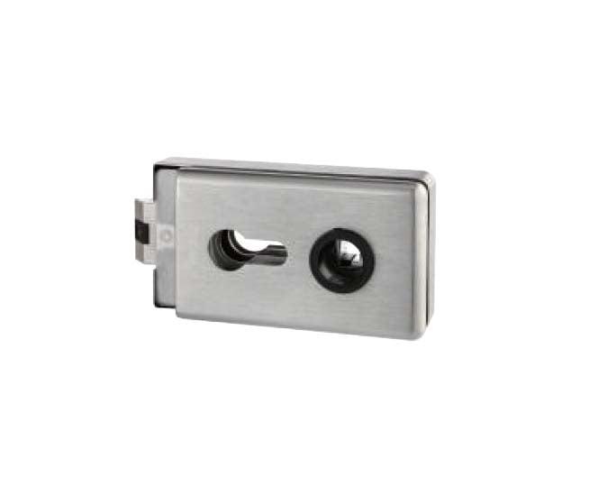 Broasca rectangulara pentru cilindru usa sticla 8-12 mm 0
