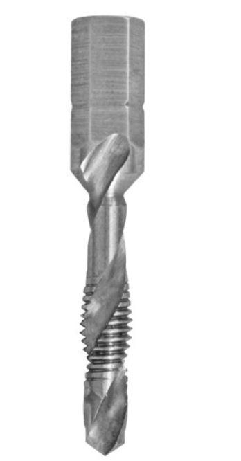Burghiu tarod cu filet M5/6/8 pentru inox 0