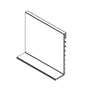 Cala exterioara asezare sticla 12,38-21,52 mm profil U View Crystal 0