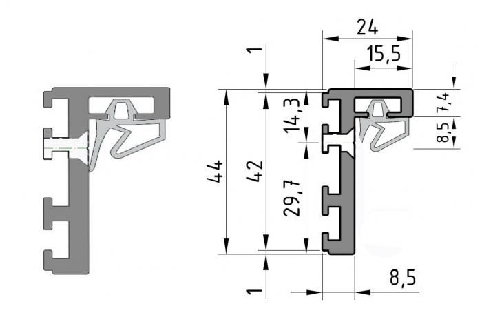 Set profil toc RLD [2]