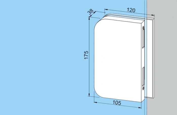 Contrabroasca Dorma Junior Office usa sticla 8-10 mm [1]