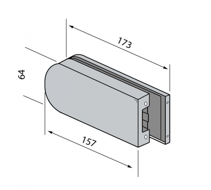 Contrabroasca usa sticla 8-10 mm 1