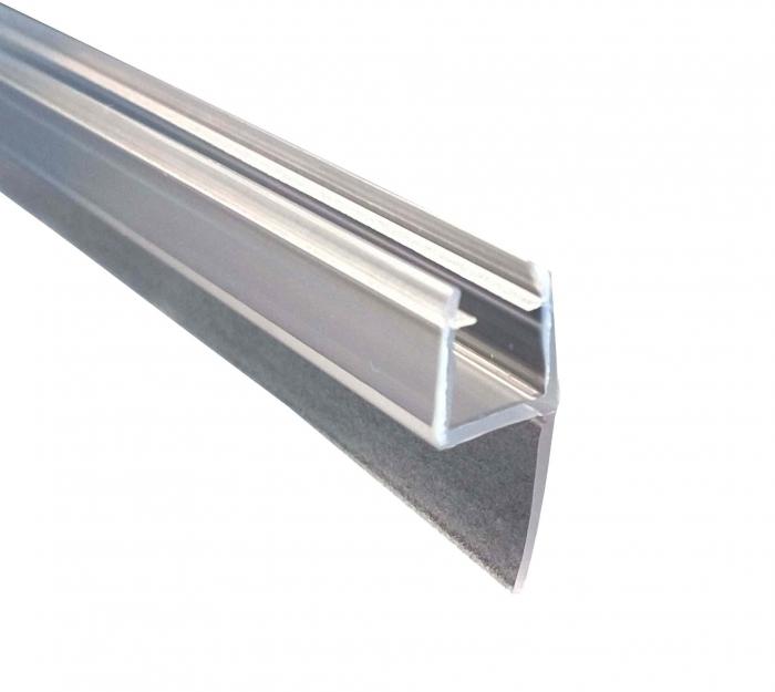 Garnitura ultraclara cu banda 21 mm la 180° cabina dus sticla 8 mm [0]