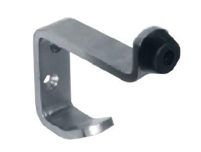 Opritor usa/cuier dublu compartimentare toaleta 0