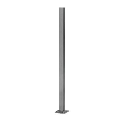 Montant profil mana curenta Easy Glass® Hybrid, H=1240 mm 0