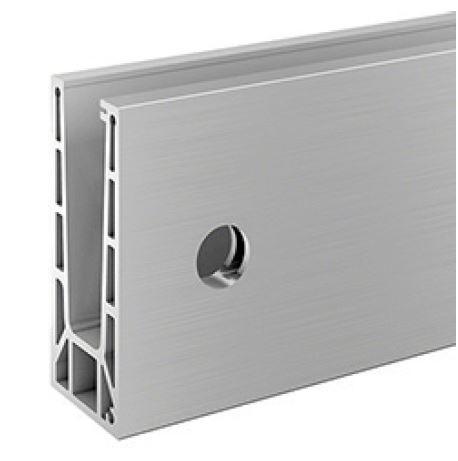 Profil U balustrada Easy Glass® Smart fixare laterala 0