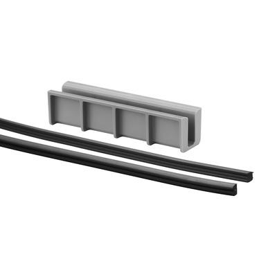 Set cale si garnituri profil U balustrada Easy Glass® Hybrid 0