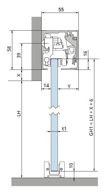 Set glisanta Dorma Muto Comfort M60 [1]