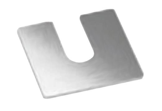 Talpa compensare profil U balustrada Easy Glass® Smart fixare pardoseala 0