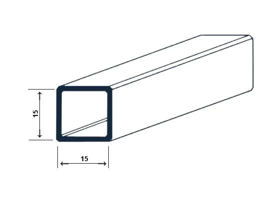 Teava stabilizatoare rectangulara cabina dus 1