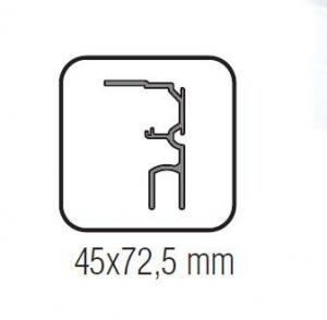 Profil parte fixa Standard EASY 801