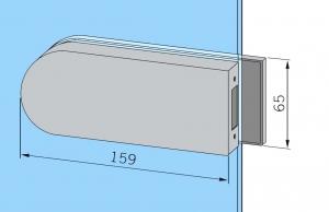 Contrabroasca Dorma Studio Rondo usa sticla 8-10 mm [1]