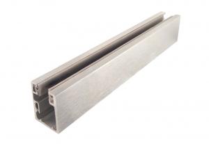 Profil monobloc cu clips inferior sticla 10 mm [0]