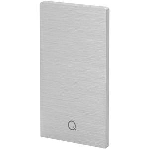 Capac capat profil U balustrada Easy Glass® Smart fixare pardoseala0