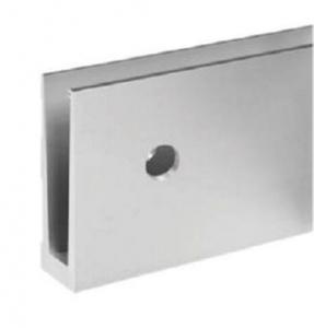 Profil U balustrada Easy Glass® Eco fixare laterala0