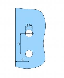 Balama Atelier F/R usa sticla 8-10 mm3