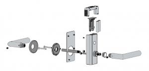 Incuietoare electronica Dorma C-lever Compact1