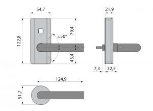 Incuietoare electronica Dorma C-lever Compact3