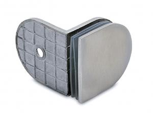 Conector 90° perete/sticla 8-10 mm0