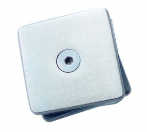 Conector patrat aliniere sticla 40x40 mm0