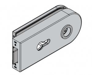 Broasca Dorma Studio Rondo pentru cilindru usa sticla 8-10 mm1