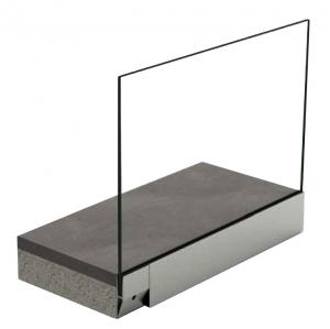 Profil U balustrada tip Y View Crystal fixare laterala [0]