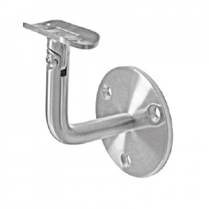 Suport perete 60x72 mm reglabil mana curenta rotunda Ø42,4 mm0