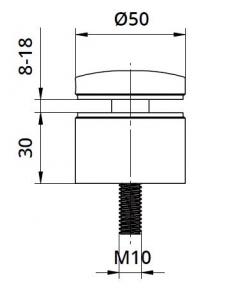 Conector sticla Ø50x30 mm1