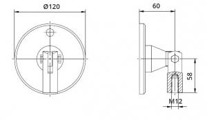 Conector superior perete/tija copertina1