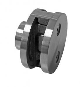 Clema dubla Ø60x28 mm fixare pe teava rectangulara0