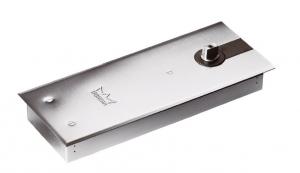 Amortizor pardoseala Dorma BTS 84 EN 3 cu placa si insert standard/blocaj la 90º0