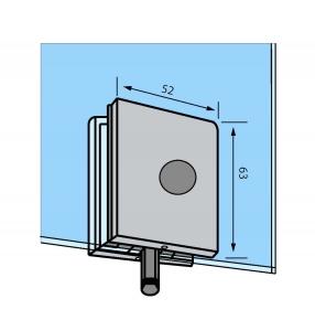 Zavor inferior/superior cu buton GL 521