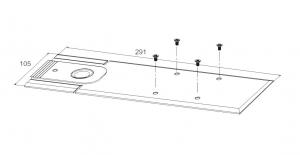 Amortizor pardoseala blocare la 90° EN 1-4 GTS 750 V2