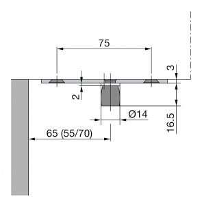 Pivot superior PT 24 - Dorma Mundus Comfort1