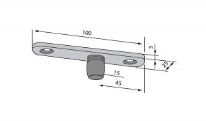 Pivot superior PT 24 - Dorma Mundus Comfort2