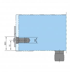 Placa fixare perete PT 30 - Dorma Mundus Comfort1