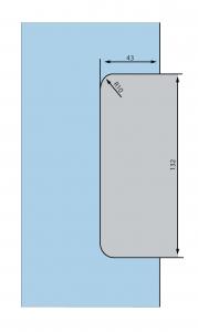 Contraplaca sticla GK 50 - pentru US 20 - Dorma Mundus Comfort3