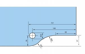 Balama inferioara RD-103